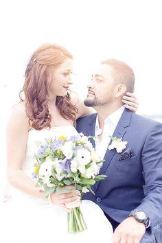 Cute couple shot! #photography #wedding #reception #ceremony Captured by: Jenny Naima Photography ---> http://jennynaimaphotography.com/