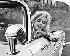 Marilyn Monroe by George Barris 1962.