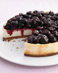 Cherry Cheesecake Recipe With Cream Cheese.No Bake Cherry Cheesecake Dessert Family Fresh Meals. No Bake Cheesecake ThriftyFun. Cheesecake Day, Cheesecake Recipes, Dessert Recipes, Light Cheesecake, Blueberry Cheesecake, Healthy Cheesecake, Cheesecake Squares, Strawberry Blueberry, Cheesecake Brownies