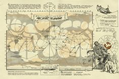 map of barsoom | map for larger image a geographic chart of the planet barsoom
