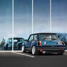I'm not into french cars at all but this tiny thing is a beast #Renault5 #turbo