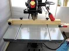 Homemade Motorized Drill Press Table Lift Car Interior