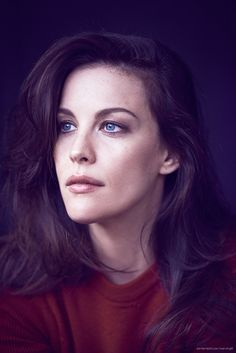 Liv Tyler by Matthew Brookes for Glamour • 2014