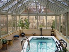 Small Indoor Pool Design Ideas, Pictures, Remodel And Decor