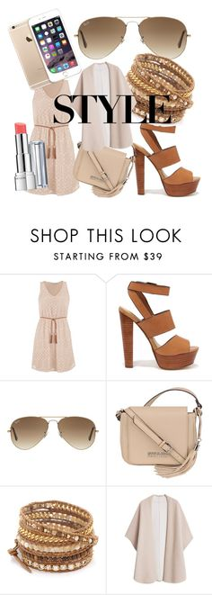 """Untitled #9"" by diana-quispe-patri ❤ liked on Polyvore featuring maurices, Steve Madden, Ray-Ban, Kenneth Cole, Revlon, Chan Luu and MANGO"