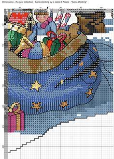 Santa stocking 9
