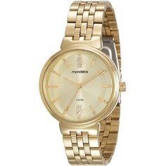 Relógio Feminino Mondaine. Cód. 94801LPMVDE2