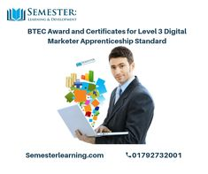 Digital Marketing Business, The Marketing, Level 3, Studying, Certificate, Opportunity, Teaching, Words, Modern
