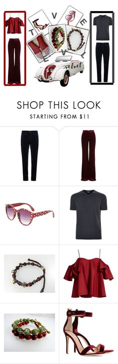 """Velvet For Her&Him"" by jananaggashop on Polyvore featuring Massimo Alba, Emilio Pucci, Giorgio Armani, Anna October and Gianvito Rossi"