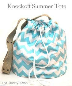 12 Simple Sewing Patterns for Summer - Gunny Sack