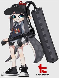 "まこ on Twitter: ""ローラーベッチュー… "" Splatoon 2 Game, Splatoon Comics, Nintendo Characters, Super Smash Bros, Game Art, Art Reference, Chibi, Cartoon, Manga"