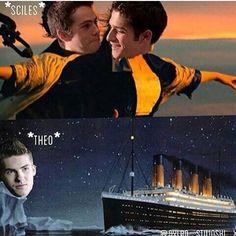 Pretty much accurate #sciles #theo #Titanic #ice