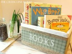 The Creek Line House: Make Your Own Custom Storage Basket!