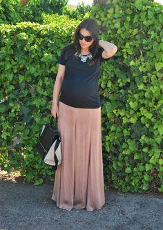 MaxiSkirt Pregnant Style