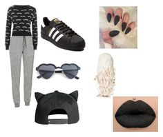 """""""Moustache"""" by marianaraposo on Polyvore featuring Icebreaker, WearAll and adidas"""