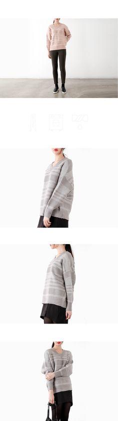 텐바이텐 10X10 : soft line knit top