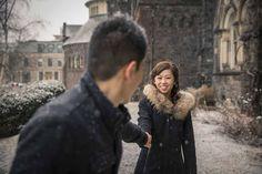 University of Toronto Winter Engagement Photography #torontoweddingphotographer #winter #engagement #photography ~ http://www.focusphotography.ca/portfolio_page/toronto-ripleys-aquarium-engagement-session-ivy-and-june/
