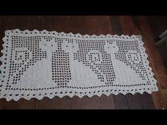 tapete grande de crochê com desenho de gato ( 5 parte ) - YouTube