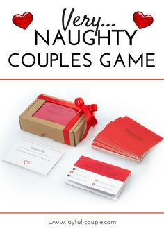 The Naughty Game is a sensual game for couples that will encourage you and your lover to experience new sexual sensations;  The game includes 50 activities, which are divided into 5 stages with 10 cards in each stage. Warm-Up cards provide a romantic warm up, which can be continued with teasful Sexy and Hot cards. And then move your desires to the Steamy and Wild cards that will bring you to new sexual heights.