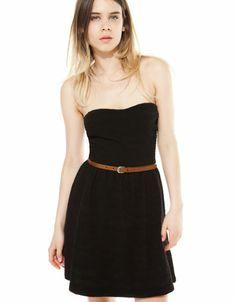 Bershka Ελλάδα - Φόρεμα BSK με ζώνη