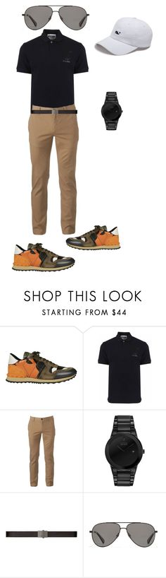 """""""At golf"""" by jesica-d-psc on Polyvore featuring Valentino, Moschino, Urban Pipeline, Citizen, Yves Saint Laurent, Vilebrequin, Vineyard Vines, men's fashion and menswear"""