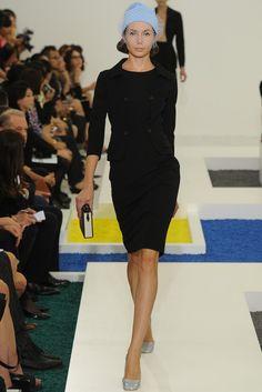 Nora Blackbird loves a versatile dress. Jill Sander Spring 2012