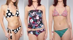 Korean style swimwear
