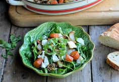 Moroccan Roasted Vegetable Salad with Feta Cheese