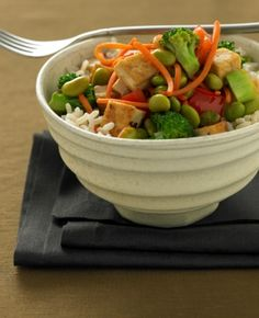 Teriyaki Soy Rice Bowl