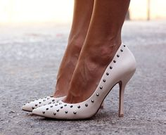 Studded Court Shoes by Zara