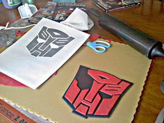 For Matthew's 4th:  optimus prime cake ideas | Art of Dessert: Tutorial: Transformers Autobot Cake