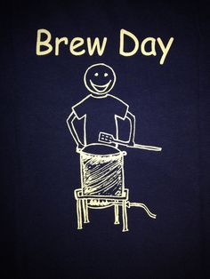 Homebrew T Shirt for the Craft Beer Brewer  by TheBrewDay on Etsy, $20.00