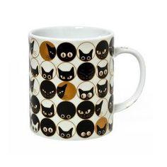 Cat Eye Mug White
