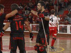 Campeões Europeus de Hóquei em  Patins, Benfica entra a vencer na Liga Europeia.