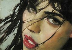 Malcolm Liepke Oil Painting | art # illustration # painting # sensuality