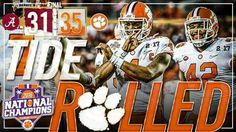Clemson tigers national champions!