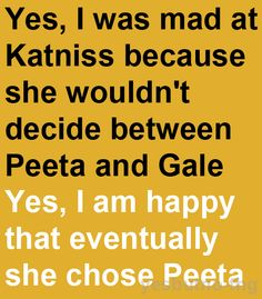 Yes, but no: The Hunger Games