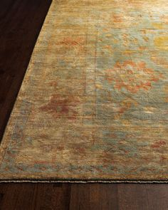 """Victorian Oushak Rug, 9'6"""" x 13'6""""  Price: $6,519.00  Take 30% Off  HCF13_H3ZTB at Horchow."""