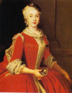 Maria Amalia of Saxony, Queen of Spain and Naples (Louis de Silvestre) (1675-1760)   Museo Nacional de Prado, Madrid