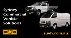 #Sydney businesses should consider #van or #ute #hire as an alternative to running large, ageing #fleets.  Rental is a viable alternative to owning a large number of #commercial #vehicles.   When considering vehicle purchase, insurance costs, petrol and other repair and maintenance costs, #commercial #rental #solutions could #improve #cash #flow. http://suvh.com.au/fleet-managers