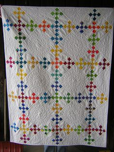 double nine patch whole quilt | Flickr - Photo Sharing!