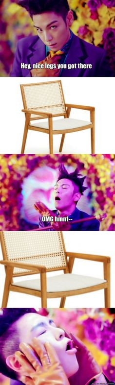 A True Love Story   TOP and his love of furniture lol #kpop #bigbang #TOP