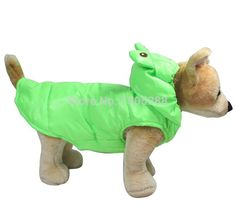 Green Frog Style Pet dogs Cotton Coat Free Shiping By CPAM Dogs Clothing #Affiliate