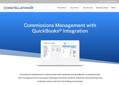 Commissions management software with Quickbooks integration for brokerage. Quickbooks Integration, Lead Management, Real Estate Office, Front Office, Accounting Software