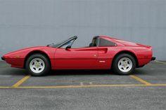 Hätte ich jemals 40000 euro, wäre das die Art, wie ich mein Kapital investiere. 1979 Ferrari 308 Convertible