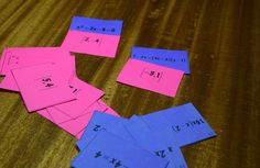 Solving Quadratic Equations Card Sort - 4 card sorts included : factoring, completing the square, the quadratic formula, and mixed practice