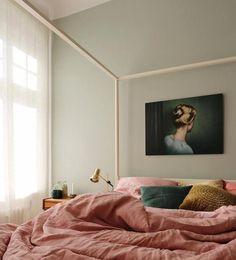 Home Decor Scandinavian .Home Decor Scandinavian Blue Bedroom, Trendy Bedroom, Bedroom Decor, Bedroom Wall, Bedroom Ideas, Bedroom Inspiration, Dusky Pink Bedroom, Master Bedroom, Bedroom 2018