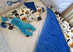 Fluffy Fields - La Millou Toddler Blanket, Pram Pillow  http://www.dollydowsie.com/2014/07/fluffy-fields-la-millou-toddler-blanket.html