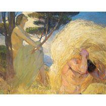 La pereza y el trabajo 1909-1910 Aurelio Arteta