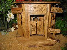 Fairy Garden House Cottage Saloon Trixie's Saloon by PixiesPatch
